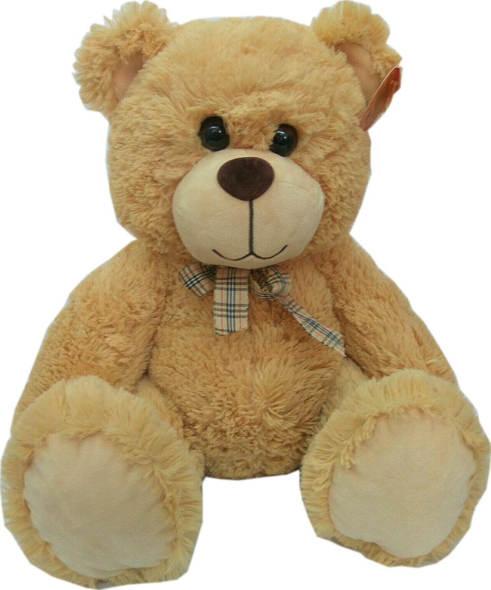 СмолТойс Мягкая игрушка Медвежонок цвет бежевый 40 см мягкая игрушка смолтойс медвежонок тедди коричневый 30 см