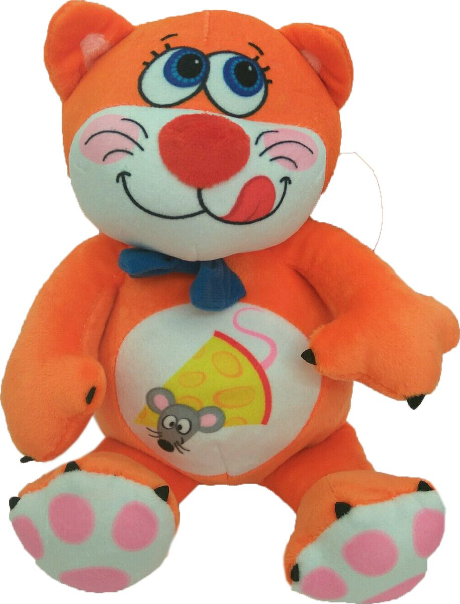 СмолТойс Мягкая игрушка Котенок Барсик 29 см мягкая игрушка смолтойс кевин в робе 30 см