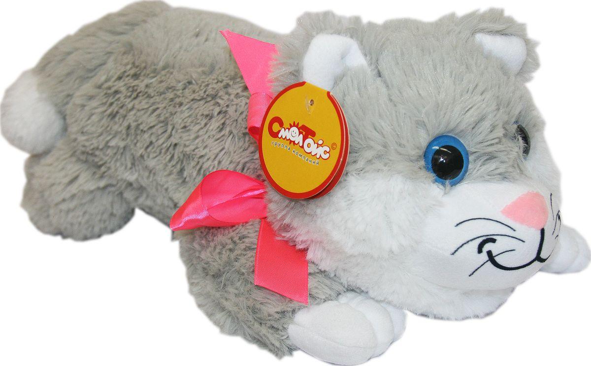 СмолТойс Мягкая игрушка Котенок 70 см флиппер тойз мягкая игрушка черепаха тортила 70 см 632416