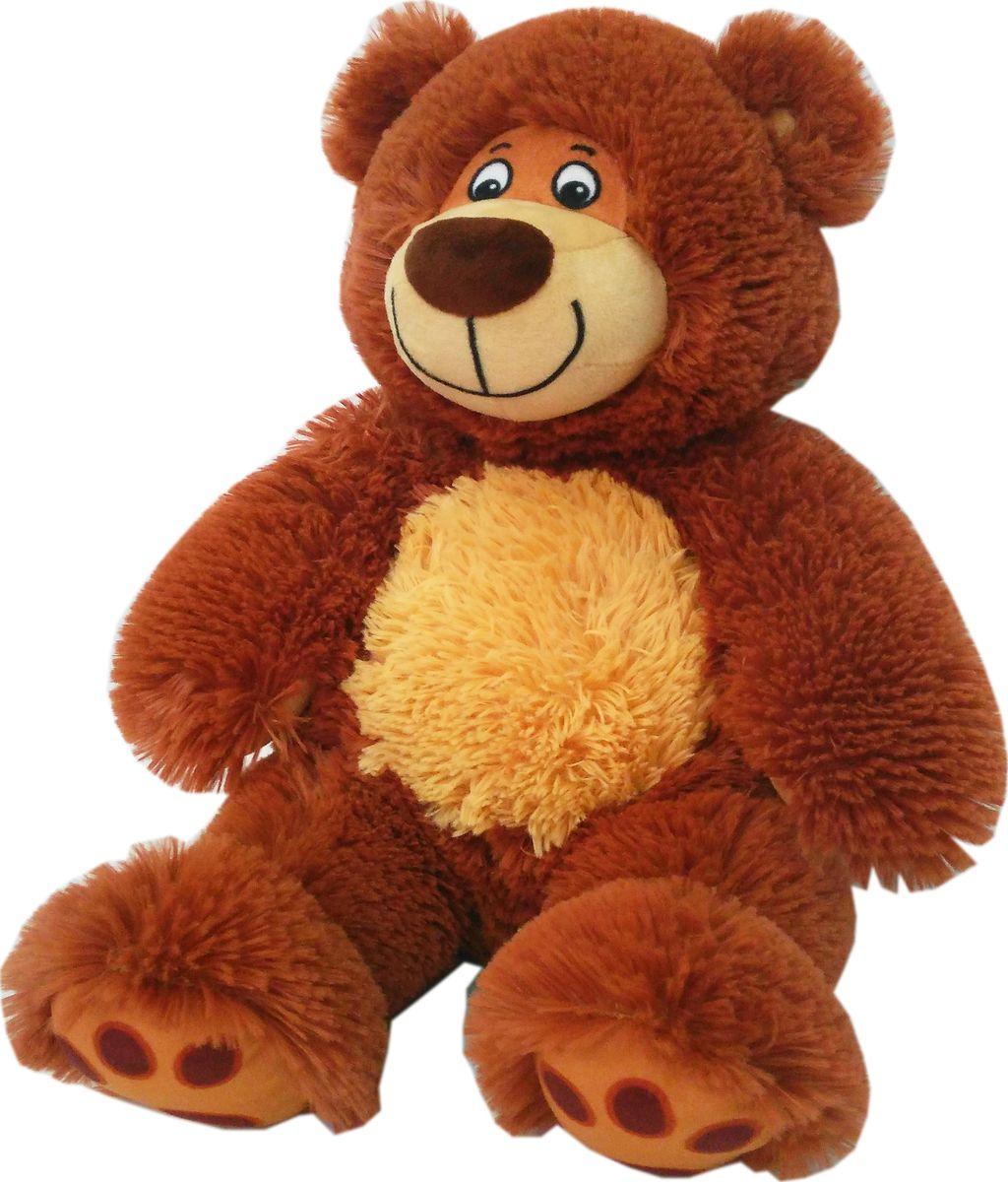 СмолТойс Мягкая игрушка Медвежонок Матвей 91 см мягкая игрушка смолтойс медвежонок тедди коричневый 30 см