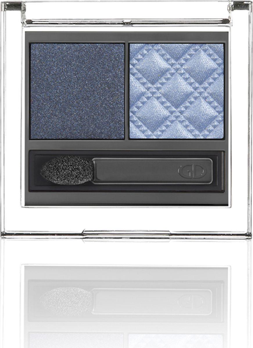 Ga-de Тени для век двухцветные Idyllic Soft Satin № 50, 4 гр