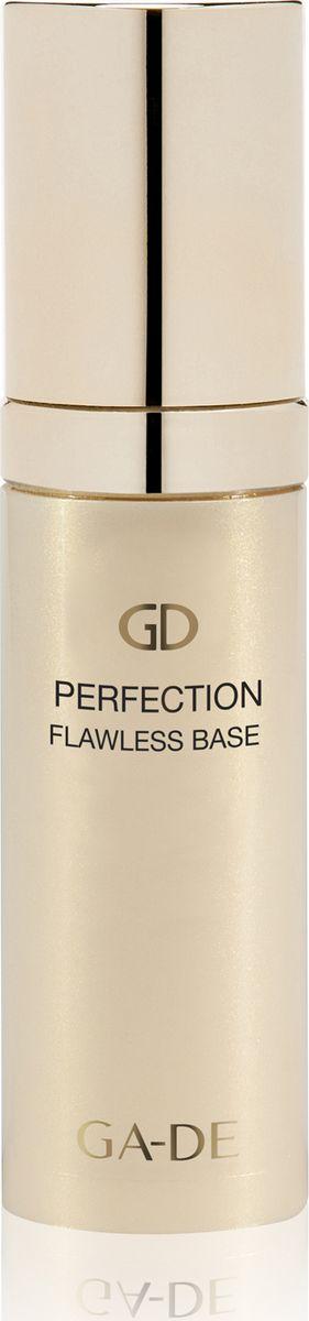 Ga-de Основа для макияжа Perfection Flawless Base, 30 мл101600041Это великолепное косметическое средство, призванное становиться идеальной базой для любого макияжа. Корректирующая основа отличается нежной бархатистой текстурой, благодаря которой равномерно наносится тонким слоем. Она сразу заполняет все трещинки, выравнивая тон, маскирует недостатки и оживляет кожу, придает здоровый, сияющий вид. Средство действует без утяжеления, обеспечивает надежную защиту от пагубного влияния внешних раздражителей.