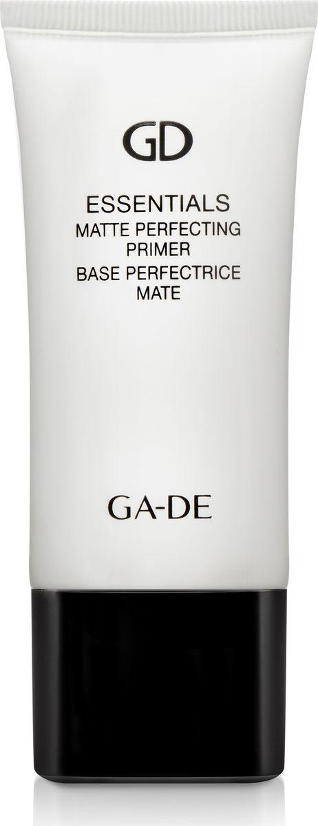 Ga-de Корректирующий Праймер Essential Matte, 30 мл143100000Объемный (3D) эластомер создает стойкое покрытие, визуально уменьшает поры и разглаживает поверхность кожи, скрывает неровность тона и несовершенства кожи(тусклость, шероховатость, морщинки). Убирает жирный блеск, при этом не сушит кожу, создает невесомое покрытие. Содержит уникальный комплекс соляроса, для повышения увлажнения кожи, и экстракт зеленого чая, для регенерации и защиты кожи.