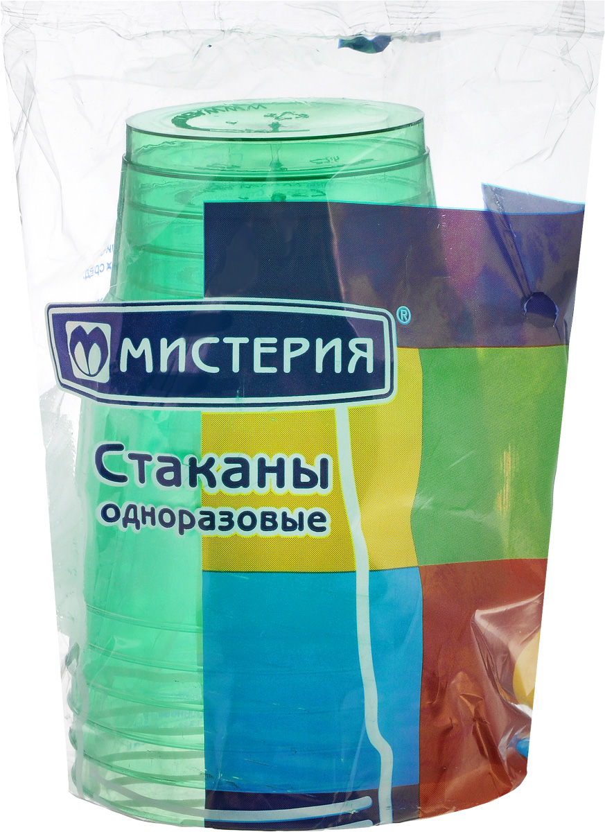 Набор одноразовых стаканов Мистерия Кристалл, цвет: зеленый, 200 мл, 6 шт181050_зеленыйНабор Мистерия Кристалл состоит из 6 стаканов, выполненных из полистирола и предназначенных для одноразового использования.Одноразовые стаканы будут незаменимы при поездках на природу, пикниках и других мероприятиях. Они не займут много места, легки и самое главное - после использования их не надо мыть.Диаметр стакана (по верхнему краю): 7,5 см.Высота стакана: 8 см.Объем: 200 мл.