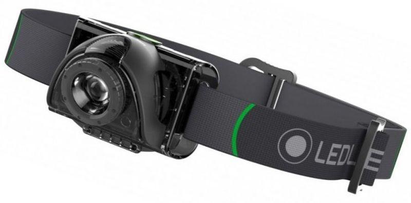 Фонарь налобный LED Lenser MH6, с аккумулятором, цвет: черный. 501502 фонарь налобный led lenser h3 2 цвет черный 500767