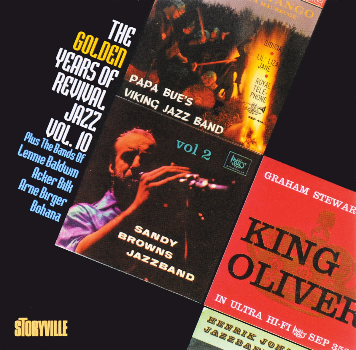 The Golden Years Of Revival Jazz. Vol. 10