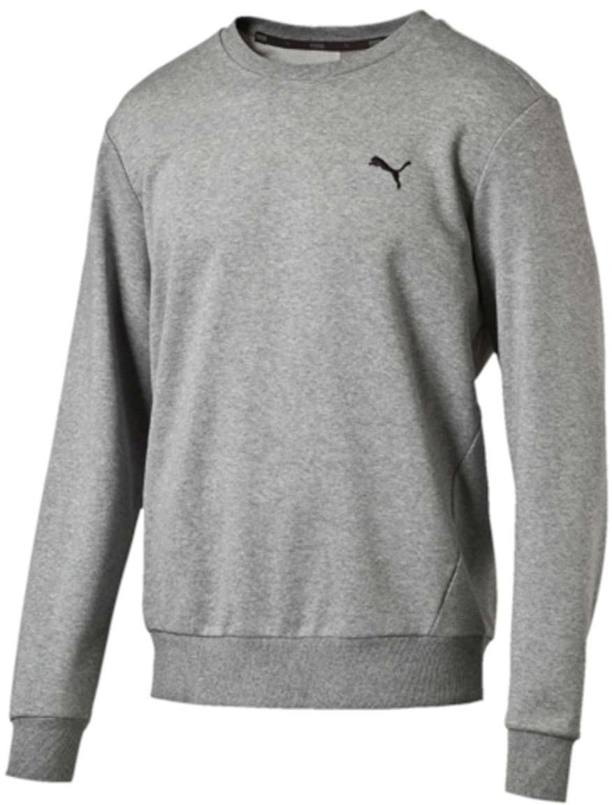 Свитшот мужской Puma ESS Crew Sweat Tr, цвет: серый. 838367_03. Размер XL (50/52)