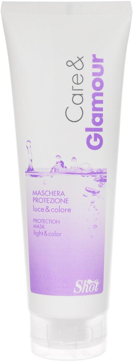Shot Care and Glamour Protection Mask - Маска защитная для сияния и стойкости цвета 250 мл bourjois glamour ultra care отзывы