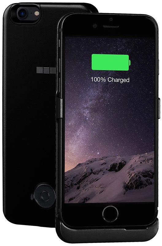 Interstep чехол-аккумулятор для Apple iPhone 7, Jet Black (3000 мАч)