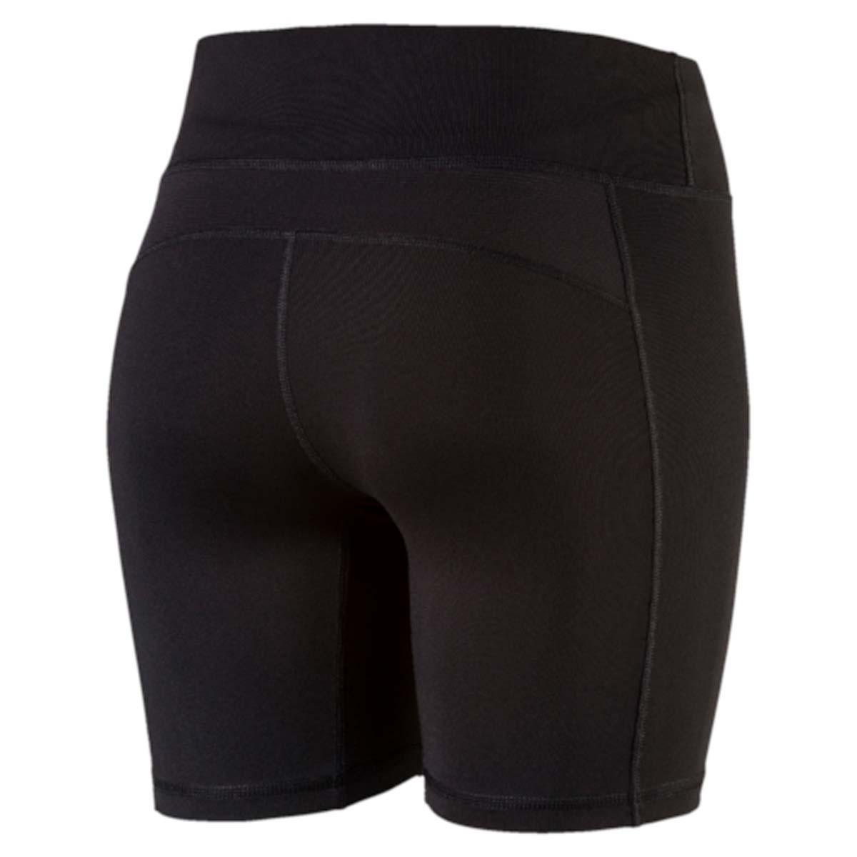 Короткие женские тайтсы Core-Run Short Tight W прекрасно подходят для самых интенсивных тренировок. Модель выполнена из полиэстера с добавлением эластана и влагоотводящей пропиткой на основе биотехнологий. По внешнему виду тайтсы практически не отличаются от леггинсов, однако такая модель одежды лучше впитывает влагу, обеспечивает воздухообмен, поддерживает мышцы, связки и сухожилия, что очень важно во время бега.