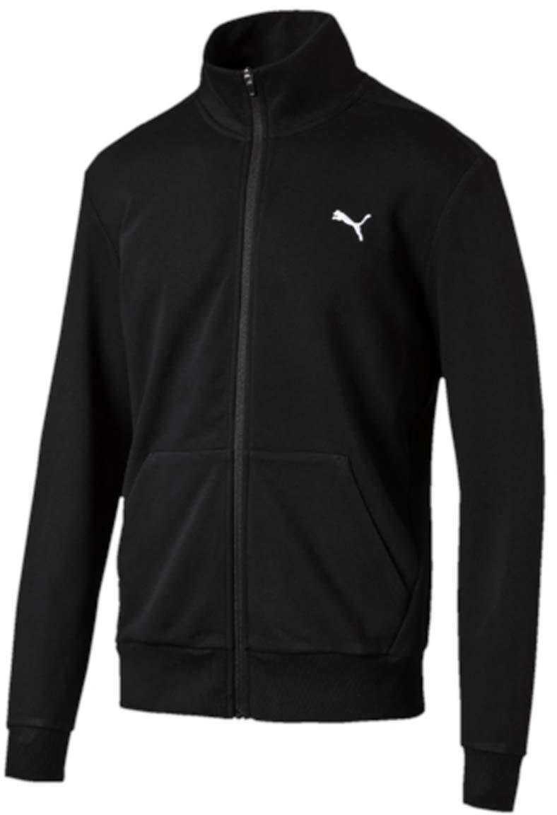Толстовка мужская Puma ESS Sweat Jacket TR, цвет: черный. 838254_01. Размер XL (50/52)