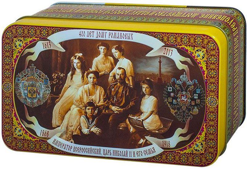 Шкатулка подарочная Царская Семья черный листовой чай ОРА, 100 г40124Черный чай повышает иммунитет, улучшает работу нервной системы, тонизирует и является хорошим антиоксидантом. При регулярном употреблении черного чая, организм очищается от плохого холестерина. Черный чай способен уменьшать головную боль и снять усталость.Всё о чае: сорта, факты, советы по выбору и употреблению. Статья OZON Гид