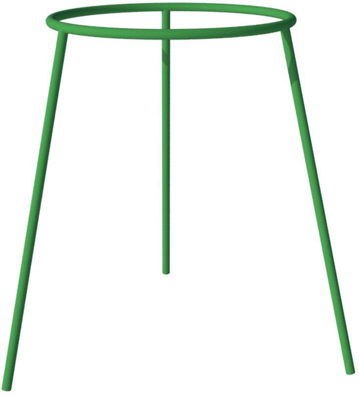 Опора для цветов Технохимпласт Пион, цвет: зеленый, высота 72 см20046Опора для цветов Технохимпласт Пион предназначена для оформления декоративных растений, поддержки стеблей и соцветий и защиты кустиков от повреждений из-за дождя и ветра. Опоры для растений: - легко устанавливаются с помощью обычного садового инструмента; - гарантируют надежную поддержку как легких, так и тяжелых растений с большой массой листьев; - обеспечивают нормальную циркуляцию воздуха и исключают возможность прения листвы; - за счет устойчивости к коррозии и перепадам температуры выполняют свои функции и сохраняют привлекательный внешний вид на протяжении всего срока эксплуатации; - оперативно разбираются для компактного хранения.Диаметр кольца: 50 см. Высота опоры: 72 см.