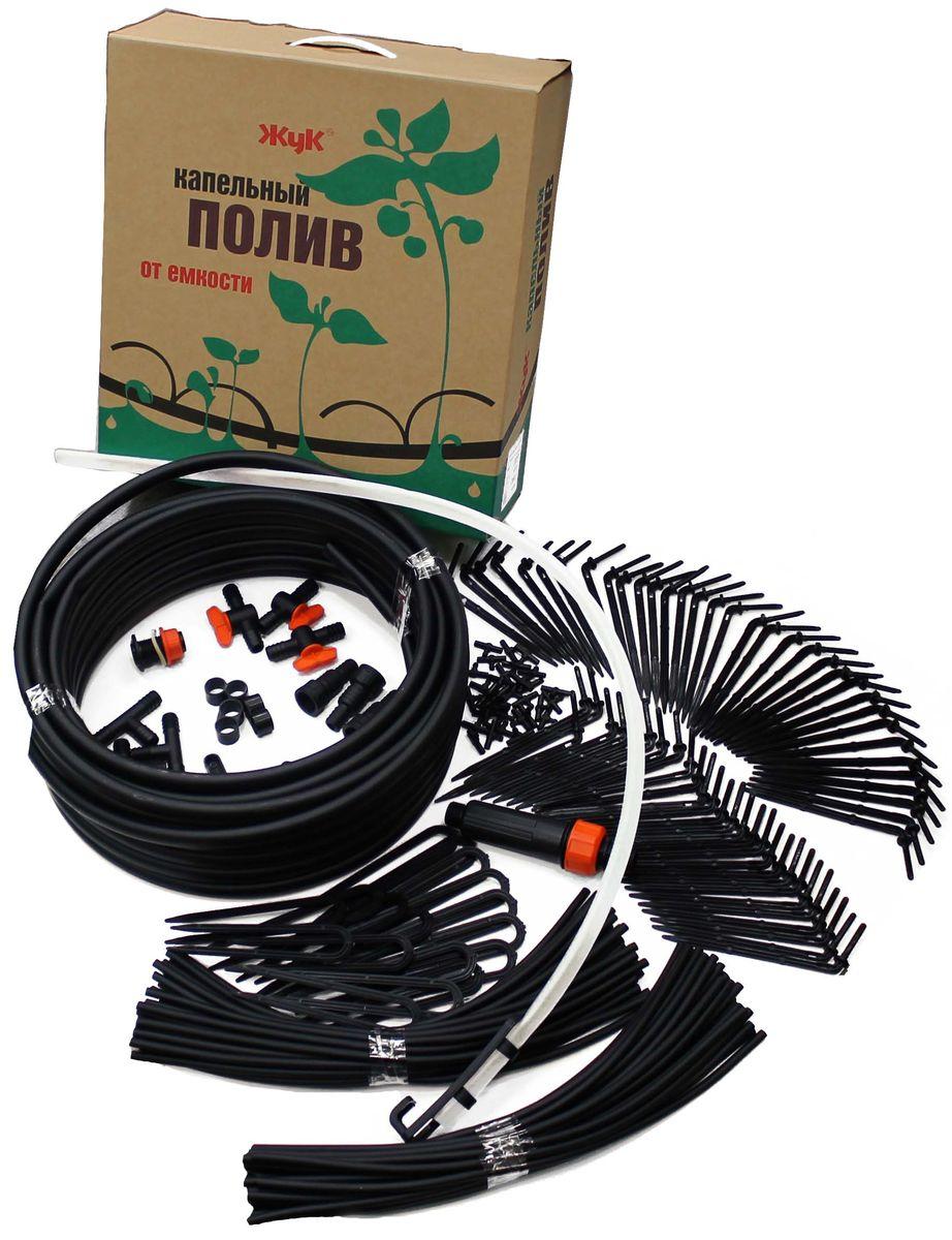 Комплект для капельного полива Жук Парник, 30 растений силиконовые шланги в кирове