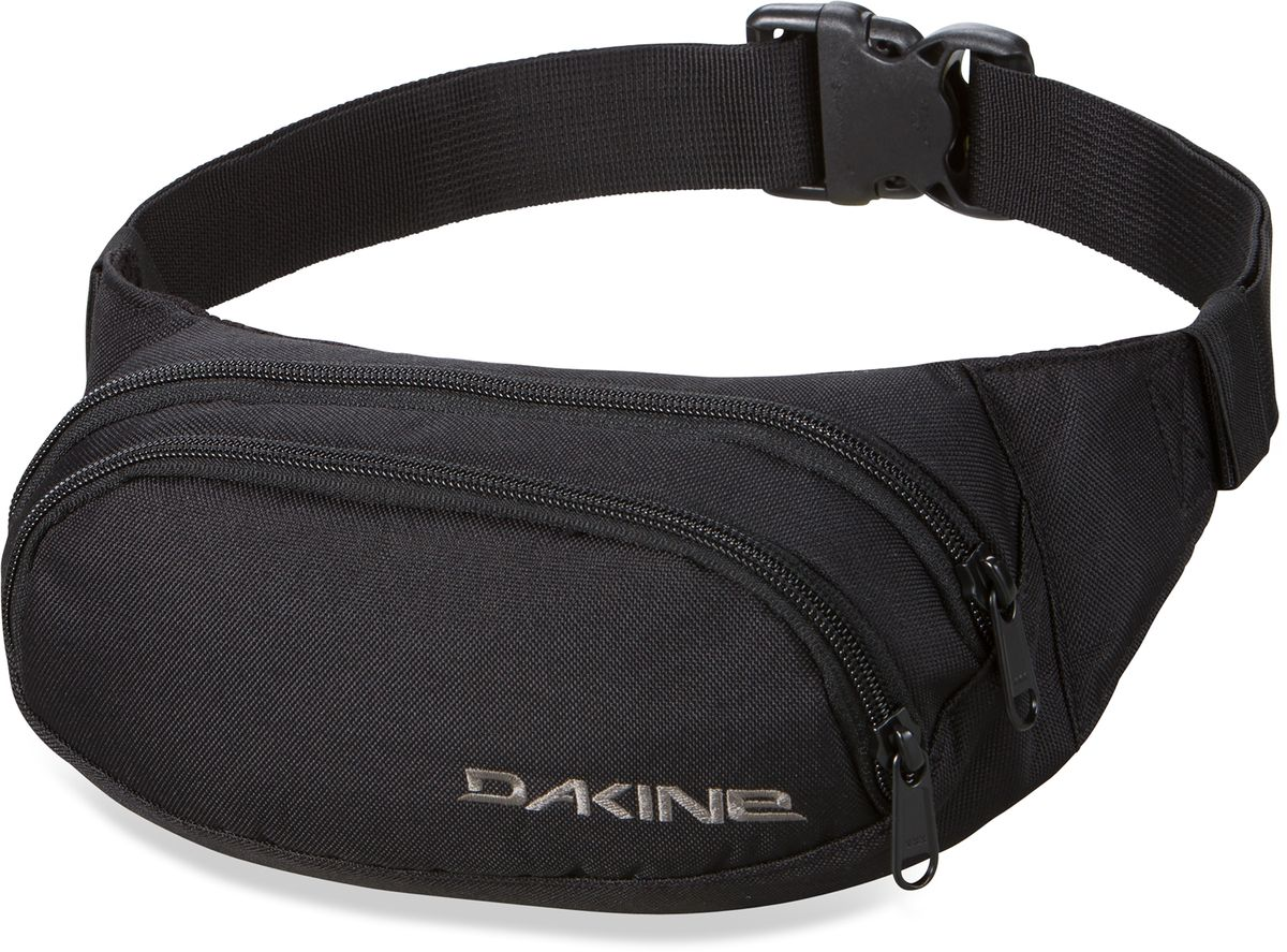 Сумка поясная Dakine Hip Pack, цвет: черный, 0,6 л off the shoulder tie dye top