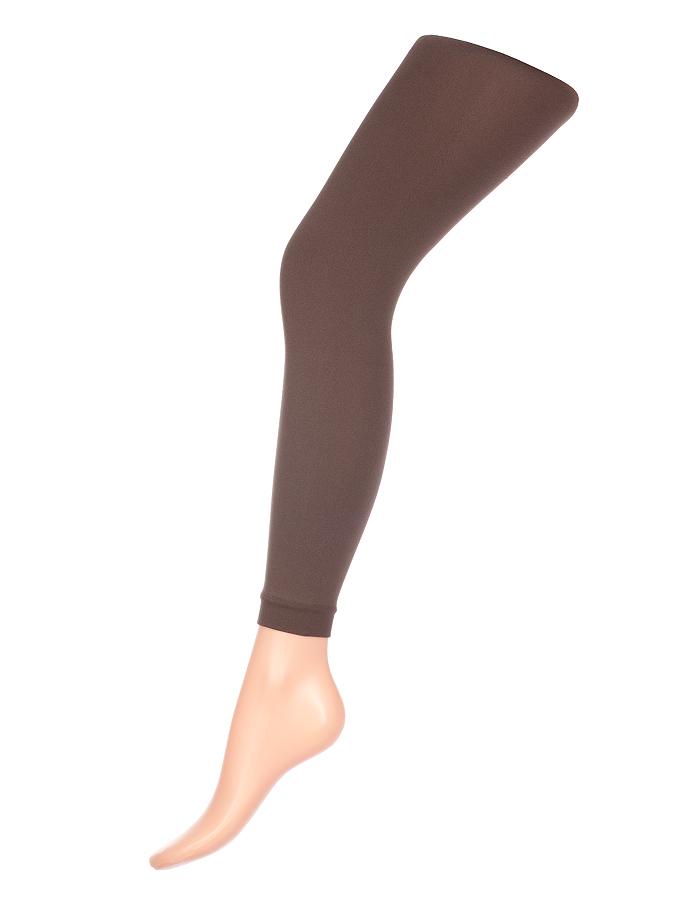 Леггинсы женские классические Charmante Glam 80, цвет: болотный. Размер S/M (42/44)GLAM 80Стильные женские леггинсы с эффектом бархатистости. Модель имеет заниженную талию, хлопковую ластовицу и комфортный плоский шов.