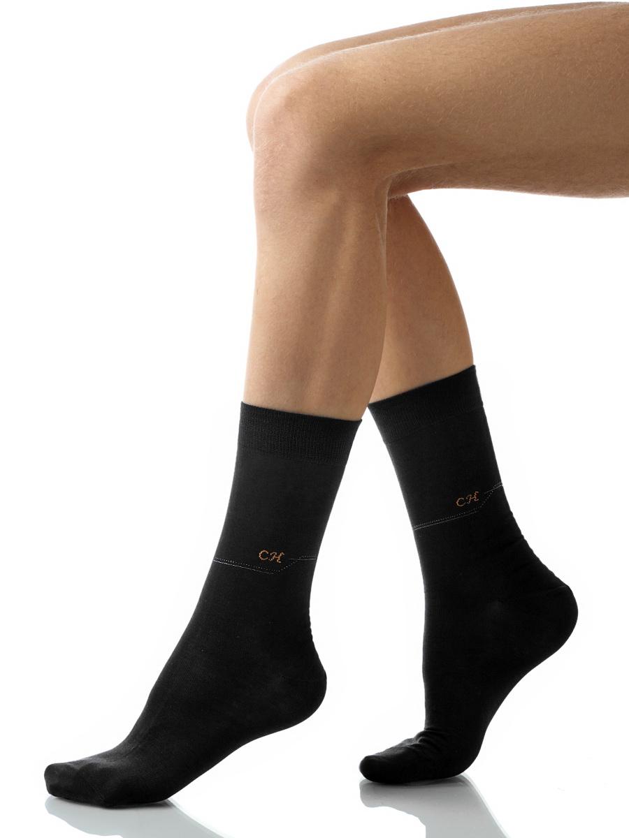 Носки мужские Charmante, цвет: черный. SCHM-1014. Размер 27-29 (42/44)SCHM-1014Мужские носки Charmante с удлиненным паголенком изготовлены из высококачественного материалаобеспечивающего великолепную посадку. Удобная широкая резинка идеально облегает ногу и не пережимает сосуды, усиленные пятка и мысок повышают износоустойчивость носка.