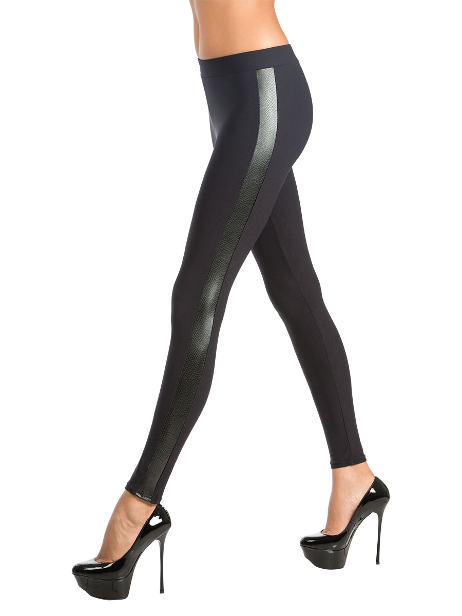 цена Леггинсы женские Charmante, цвет: черный. VZC_1512. Размер M (44) онлайн в 2017 году