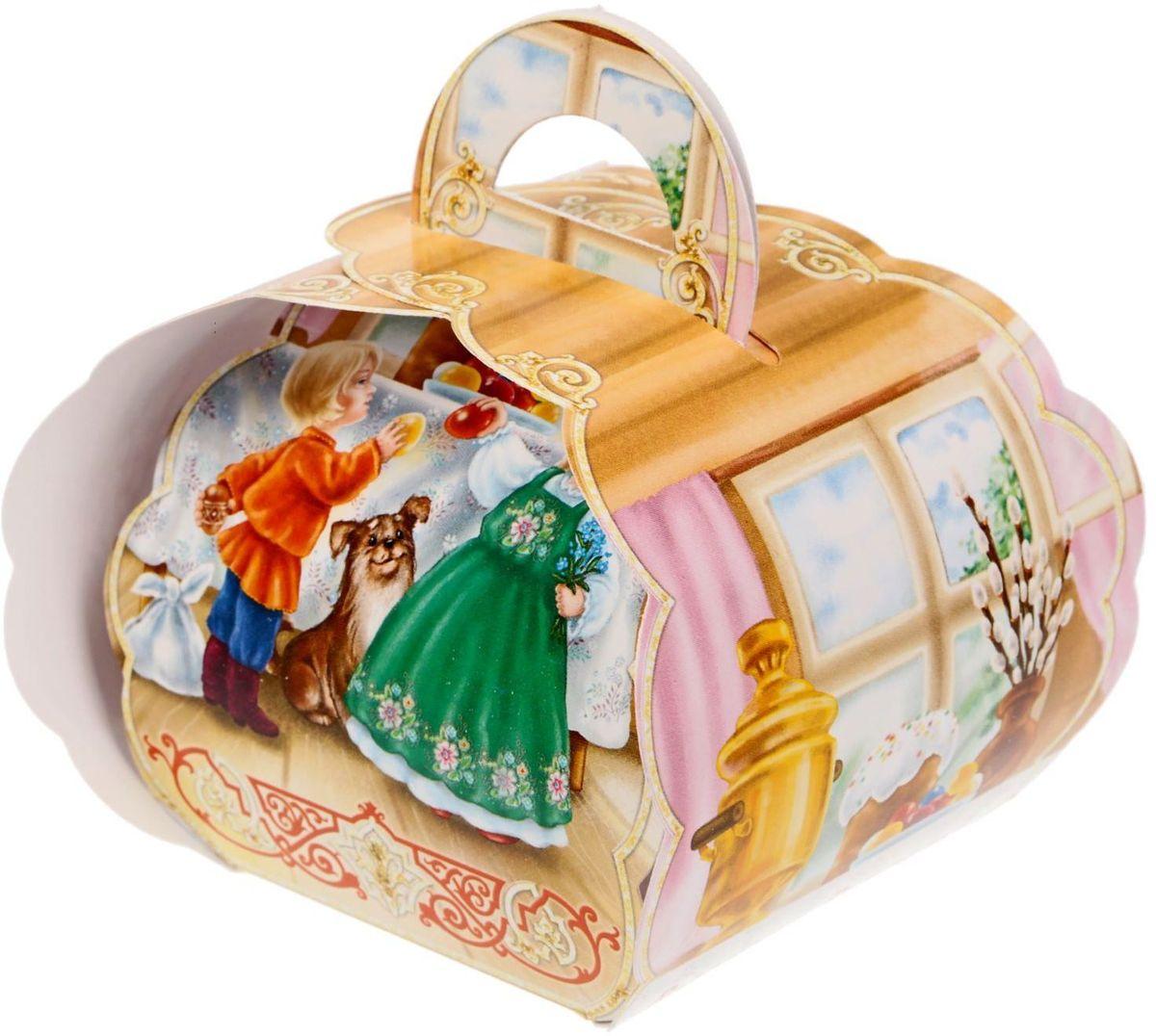 Коробочка подарочная для яйца Христос Воскресе. Дети. 17469913061 LPКоробочка подарочная для яйца — новое веяние в мире подарочной упаковки. Представьте, как здорово будет преподнести родным и близким подарки в таком оформлении. Душевный дизайн в народном стиле и пасхальные символы никого не оставят равнодушным. Коробочка надёжна и легка в использовании. Согните её по линиям и положите внутрь заготовленный презент. Благодаря удобной ручке изделие удобно переносить. Размер заготовки: 13,4 х 26,2 см.