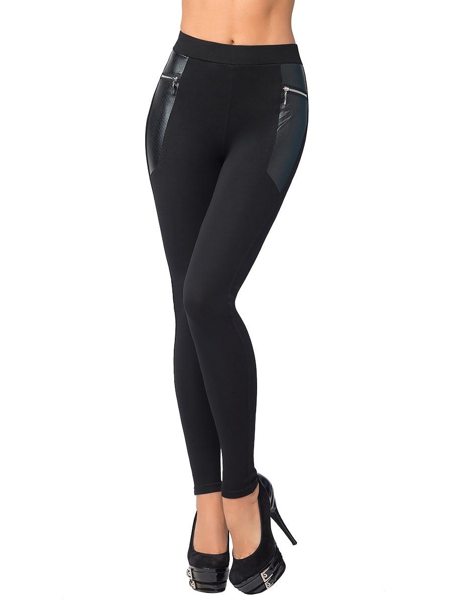Купить Леггинсы женские Charmante, цвет: черный. LLR1617. Размер L (46)