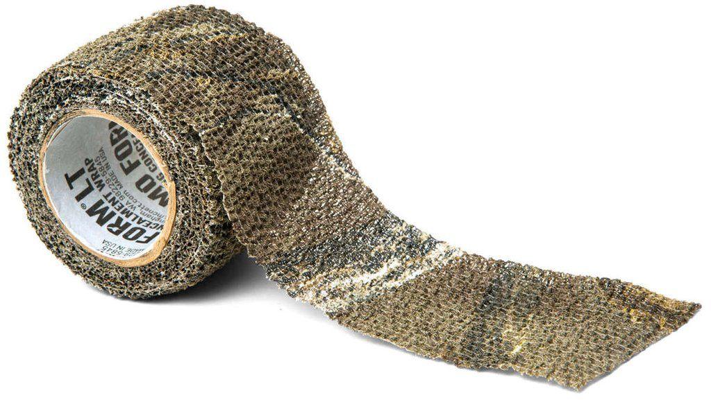 Камуфляжная лента McNett Stretch. BreakUp Infinity19330Камуфляжная лента McNett Stretch применяется для защиты и маскировки ружей, оптических прицелов, биноклей, фонарей, ножей, фляг и другого снаряжения. Использование ленты позволяет избежать солнечных бликов от оружия, маскирует его, а также защищает от влаги, пыли, механических повреждений, царапин. Уменьшает шум при использовании и вероятность соскальзывания руки. Защищает руки от горячих и холодных поверхностей.Пропитанная латексом, эластичная тканая лента прилипает ко всем поверхностям, прекрасно обтекая их. Прочный и тянущийся материал принимает любую форму, всегда оставаясь на месте.Лента без клейкой основы: при необходимости легко снимается, не оставляет липких следов. Лента может быть использована повторно, что позволяет менять окраску камуфлируемых предметов в зависимости от времени года и вида местности. Не теряет своих свойств в воде и при низких температурах. В экстренных случаях может заменить эластичный бандаж (бинт).Изделие изготовлено из материала, содержащего латекс, и не вызывает аллергических реакций.Лента обладает высокой эластичностью, растягивается в два раза: длина 2.4 м, тянется до 4.8 м.Ширина: 5 см.Длина: 2,4 м.Уважаемые клиенты!Обращаем ваше внимание, что точная раскраска ленты представлена на первом изображении. Дополнительные фото служат для визуального восприятия товара, на них приводится пример работы с лентой.