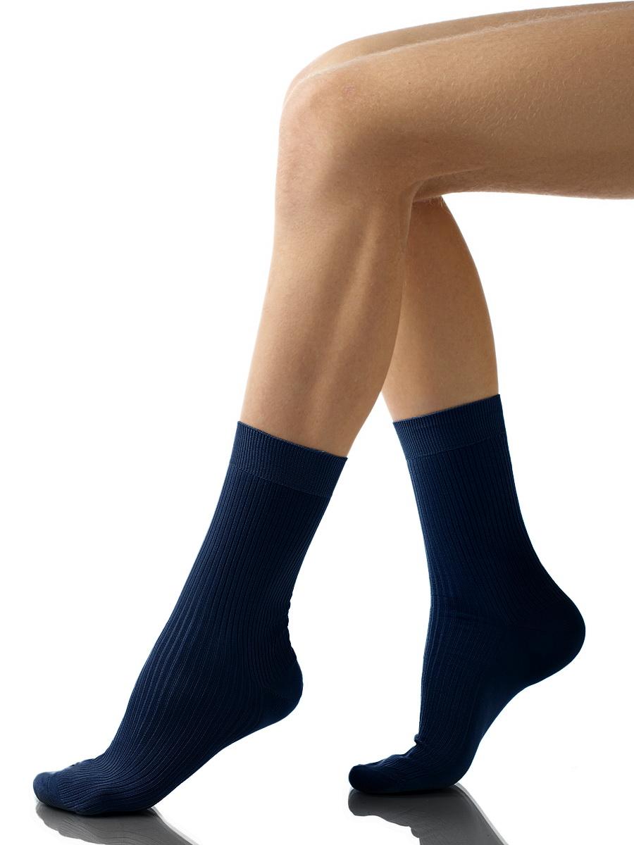 Купить Носки мужские Charmante, цвет: темно-синий. SCHM-1009. Размер 27-29 (42/44)