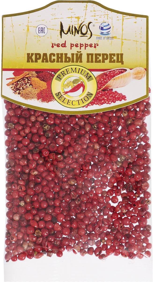 Minos Красный перец, 20 г17019Плоды лианы piper nigrum - это красный перец. Он изготавливается из зрелых красных плодов, так как плоды зрелые, то во вкусе имеется легкая сладость. Этот вид перца практически не завозится в Россию. Так что его вид мало кому знаком.Приправы для 7 видов блюд: от мяса до десерта. Статья OZON Гид