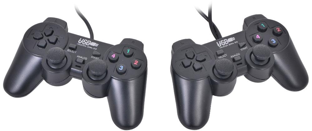 3Cott Double GP-02, Black геймпад