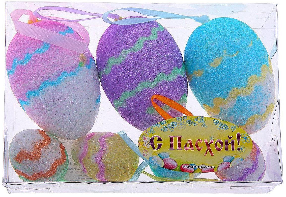 Сувенир пасхальный Sima-land Яйцо. Волны, 7 шт114833Яйцо - это главный пасхальный символ, который символизирует для христиан новую жизнь и возрождение, поэтому его присутствие на праздничном столе является обязательным элементом во многих странах.Сегодня крашеными яйцами принято не только украшать праздничный стол. Если вы решили серьёзно подойти к декору квартиры, и вам нужно, например, подвесить яйца, закрепить на веточках, в этом вам поможет сувенир - пасхальное яйцо Волны (набор 7 шт) - очаровательный символ, который покорит сердце каждого. Можете уложить эти чудесные яйца в плетёную корзинку, на красивую салфетку, и перед вами уже готовый подарок или композиция для сервировки стола. Приобретая такой сувенир, вы сэкономите кучу времени на росписи яиц, оставив его на выпечку самого вкусного кулича.