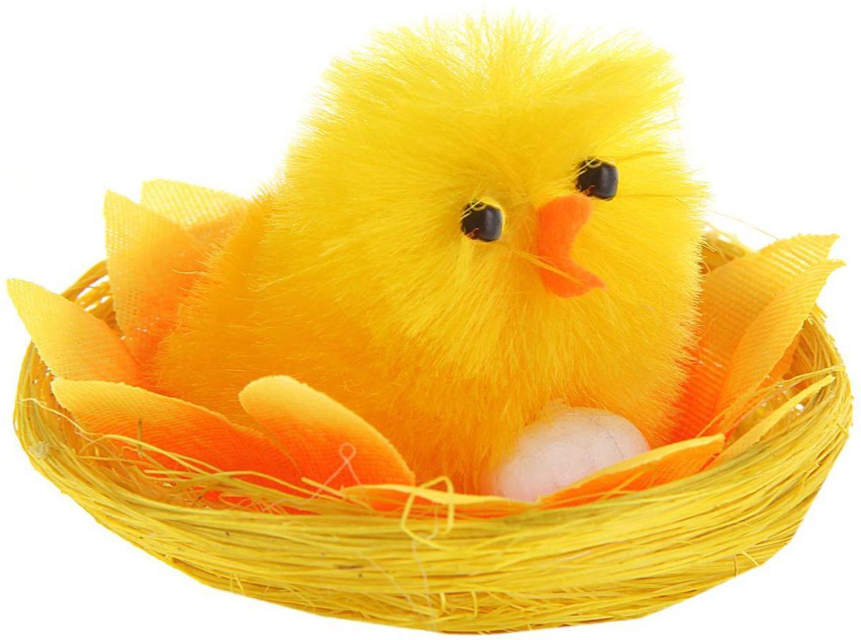 Сувенир пасхальный Sima-land Цыпа в подсолнухе с яйцом, 5 х 5 х 4 см сувенир пасхальный sima land яйцо горошек 4 х 4 х 6 см 6 шт