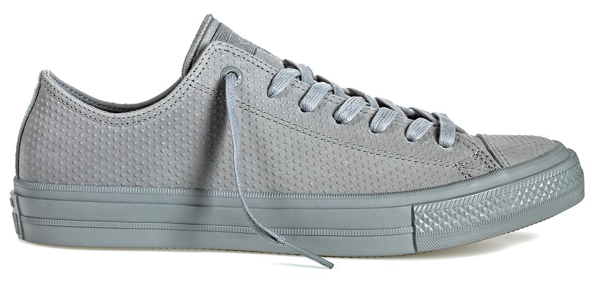 Купить Кеды мужские Converse Chuck Taylor All Star II, цвет: серый. 155766. Размер 8, 5 (42)