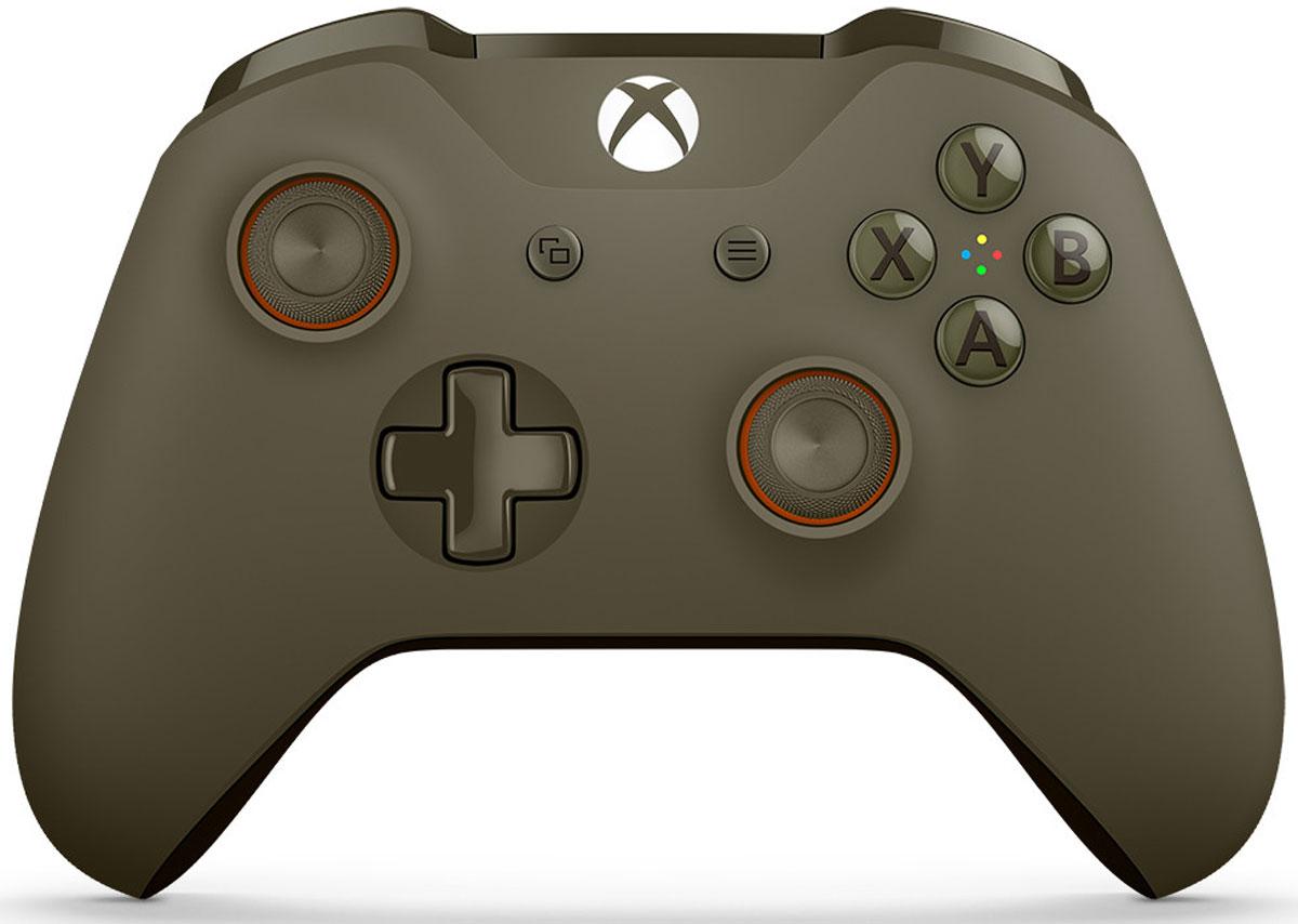 Xbox One беспроводной геймпад цвет оливковый