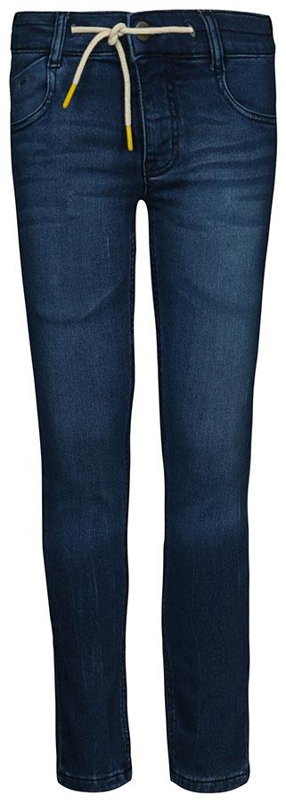 Джинсы для мальчика Tom Tailor, цвет: темно-синий. 6205478.00.30_1097. Размер 1586205478.00.30_1097Стильные джинсы для мальчика Tom Tailor выполнены из высококачественного материала. Модель на талии застегивается на металлическую пуговицу и имеет ширинку на застежке-молнии, а также шлевки для ремня. Джинсы имеют классический пятикарманный крой: спереди два втачных кармана и один накладной кармашек, а сзади - два накладных кармана.
