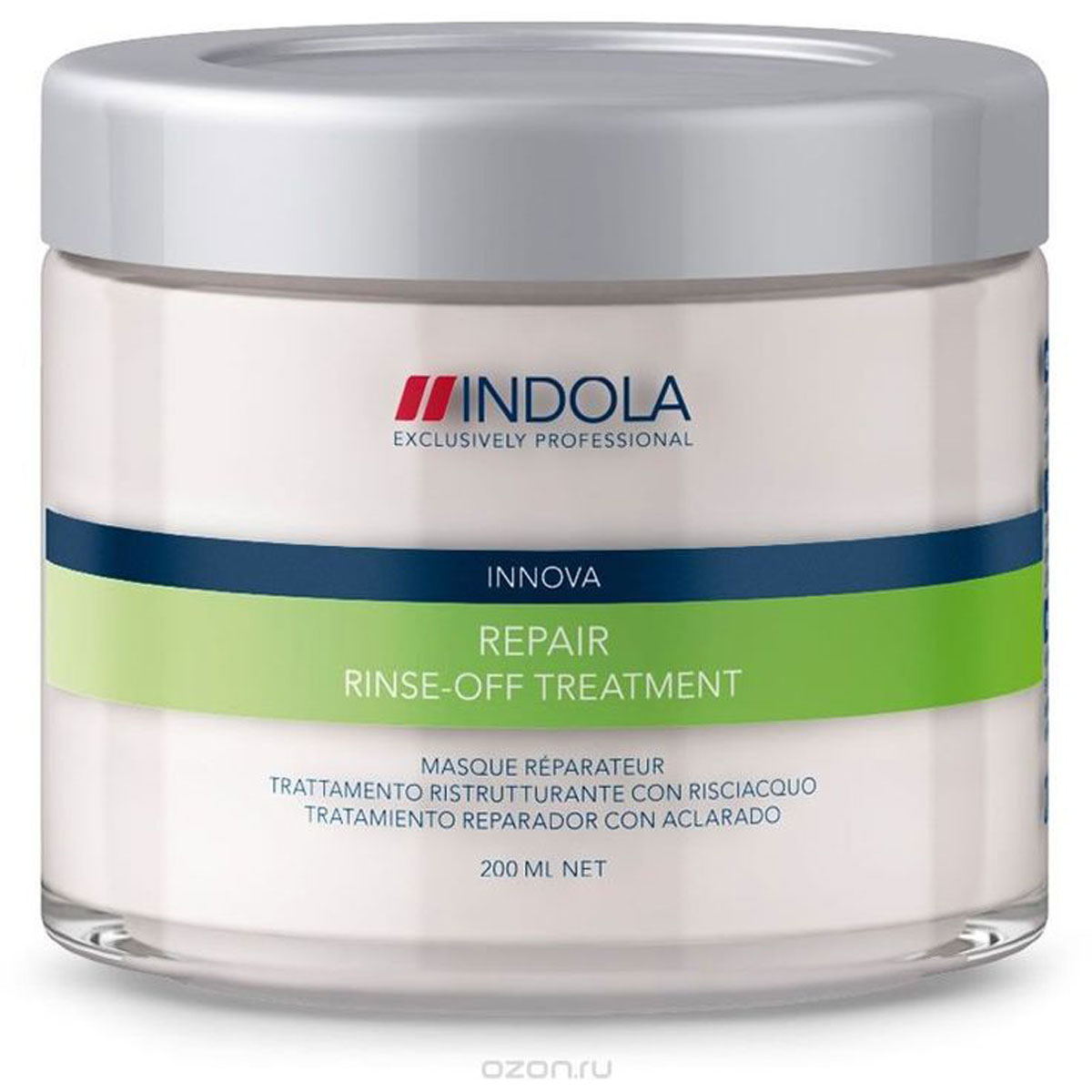 Indola Маска восстанавливающая для волос Innova Repair Rinse Off Treatment 200 мл спреи indola солевой спрей indola 200 мл