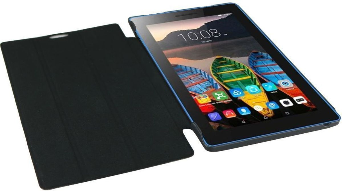 IT Baggage чехол для Lenovo TB3 Essential 7 710i/710F, BlackITLN3710-1Чехол для планшета IT Baggage надежно защищает планшет от случайных ударов и царапин, а так же от внешних воздействий, грязи, пыли и брызг. Крышка используется как подставка по устройство. Чехол обеспечивает свободный доступ ко всем функциональным кнопкам планшета и камере.