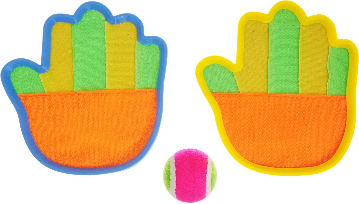 ABtoys Игровой набор Ловушка с мячом abtoys со стрелами на присосках