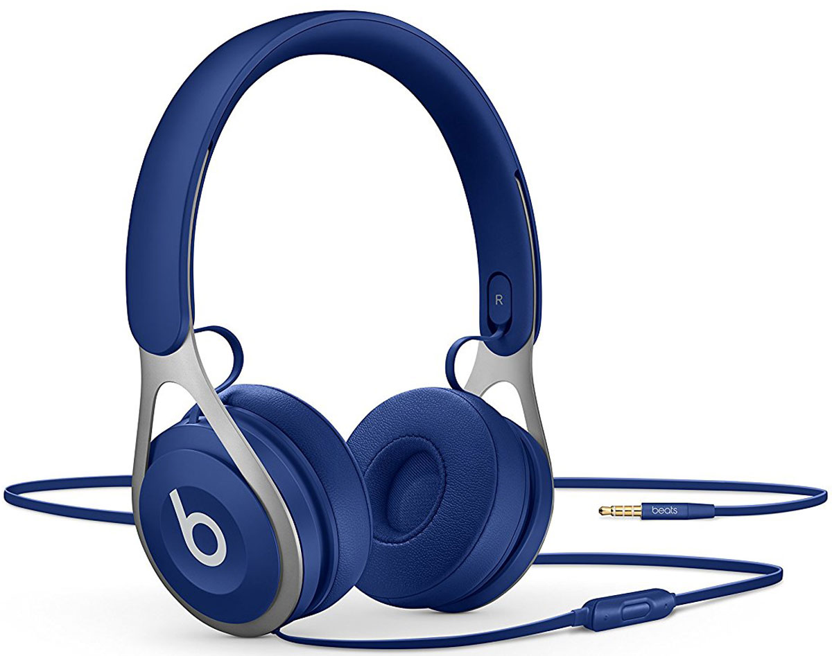 Beats EP, Blue наушники наушники беспроводные beats solo3 wireless on ear neighborhood collection brick red mpxk2ze a