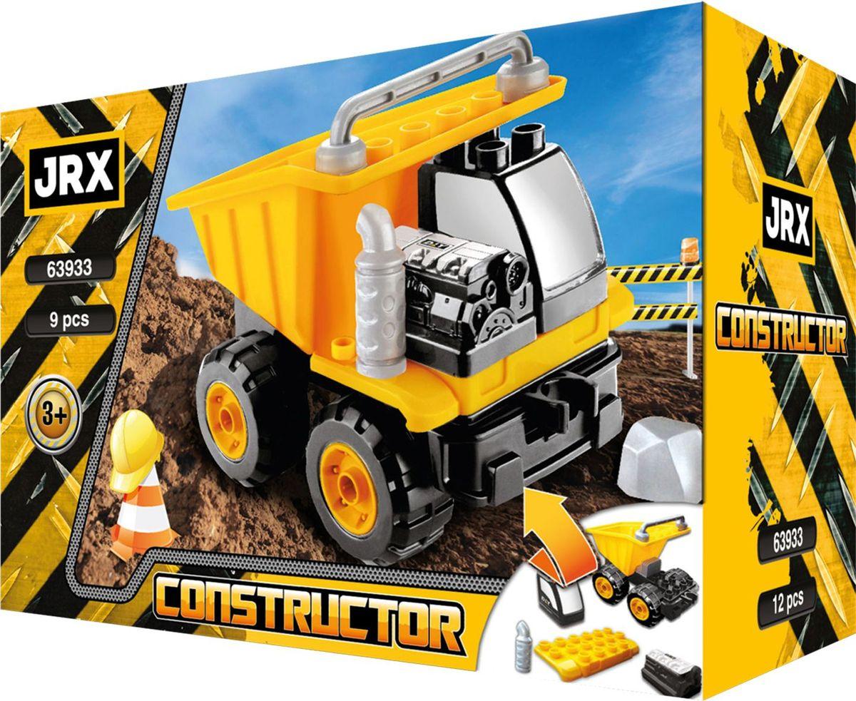 JRX construction Конструктор Самосвал с фигурками construction