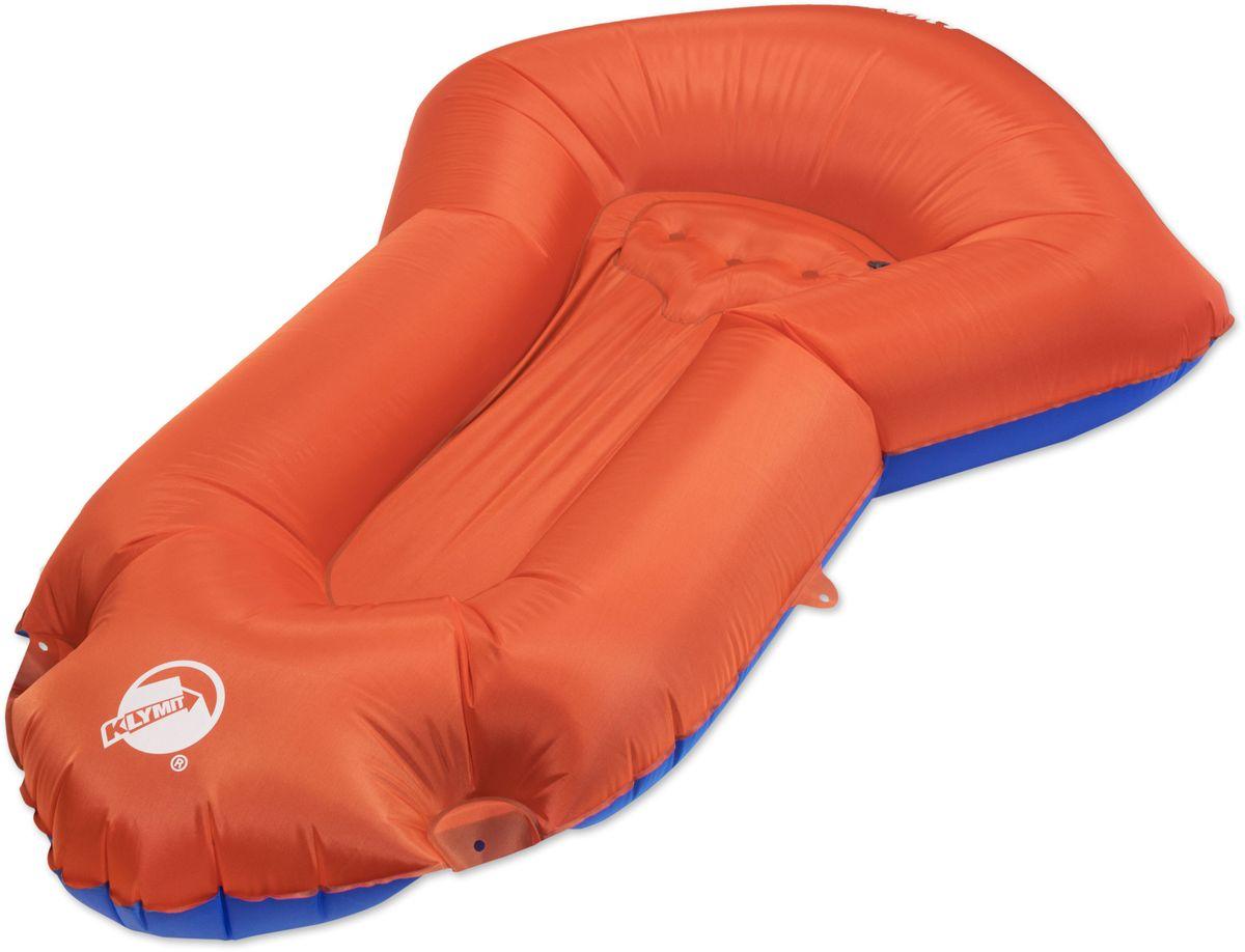 Лодка надувная Klymit Dinghy, цвет: оранжевый надувная лодка с алюминиевыми веслами и насосом jilong cheyenne iii 400 set 284х132х38см jl007108n