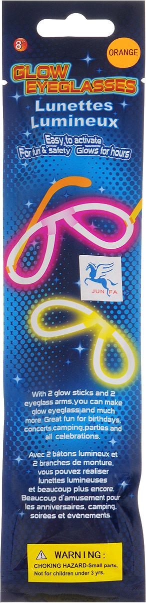 Junfa Toys Аксессуар для детского праздника Очки светящиеся