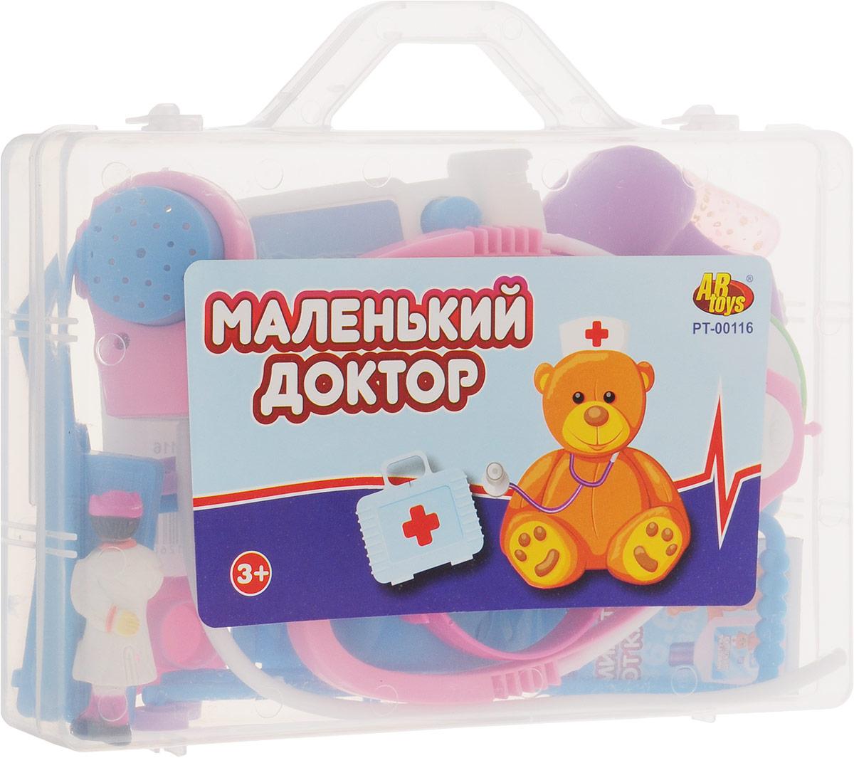 ABtoys Игрушечный набор Маленький доктор микстура с цитралью в омске