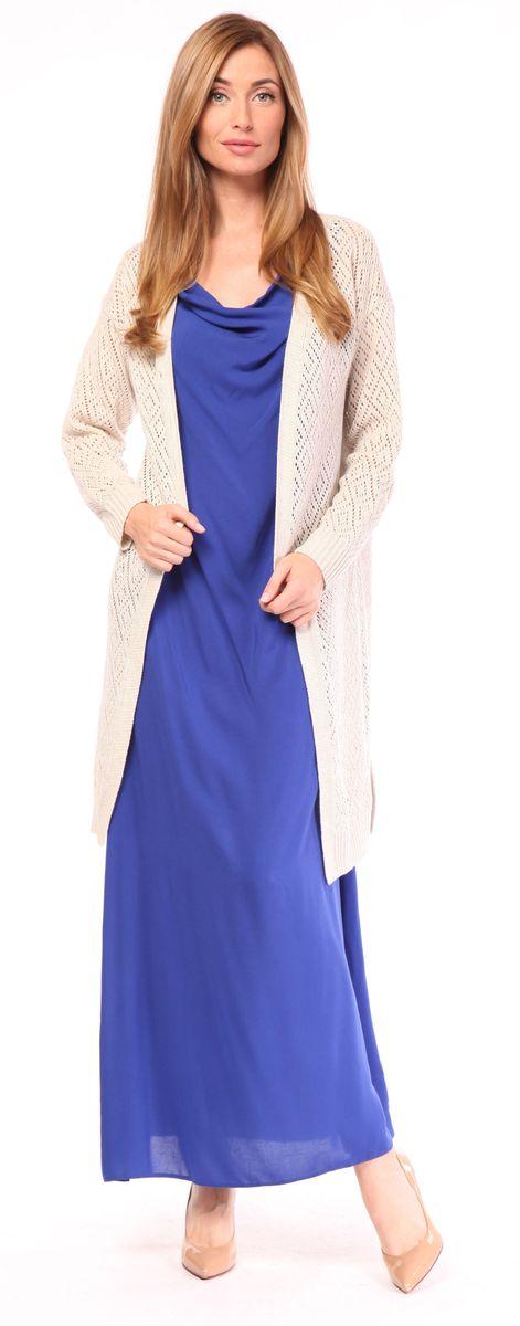Кардиган женский Pettli Collection, цвет: льняной. 1383. Размер 46 джемпер pettli collection pettli collection pe034ewvvz24