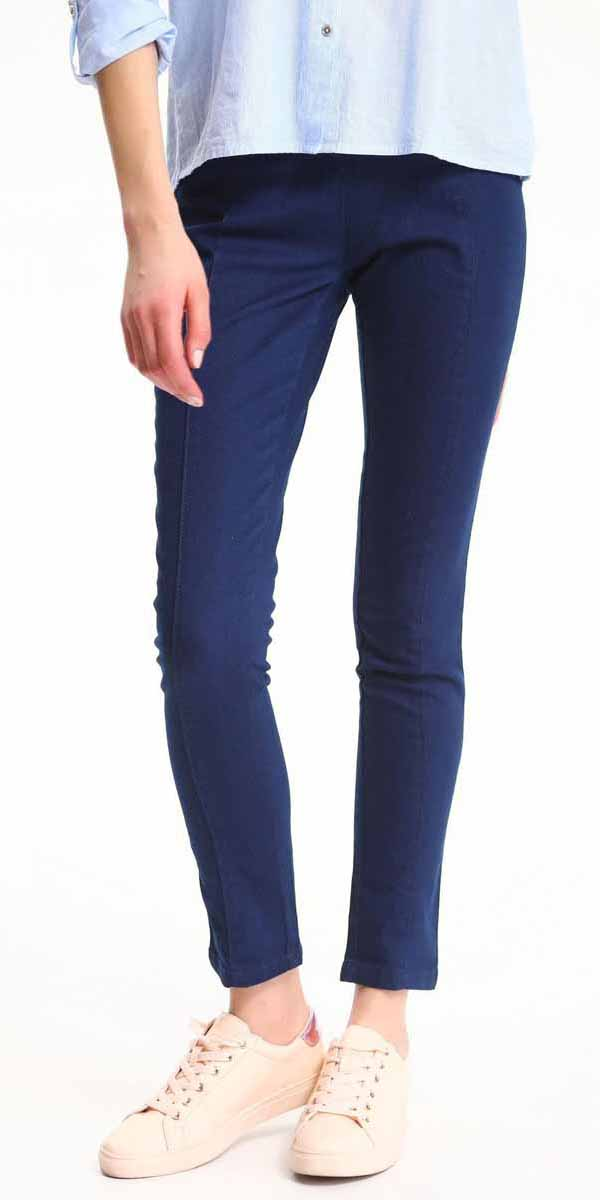 Брюки женские Top Secret, цвет: синий. SSP2509NI. Размер 34 (42)SSP2509NIСтильные женские брюки Top Secret - брюки высочайшего качества на каждый день, которые прекрасно сидят. Модель изготовлена из высококачественного комбинированного материала. Эти модные и в тоже время комфортные брюки послужат отличным дополнением к вашему гардеробу. В них вы всегда будете чувствовать себя уютно и комфортно.