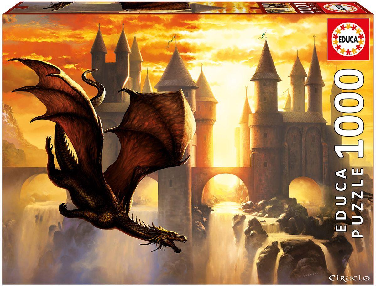 Educa Пазл Дракон на закате