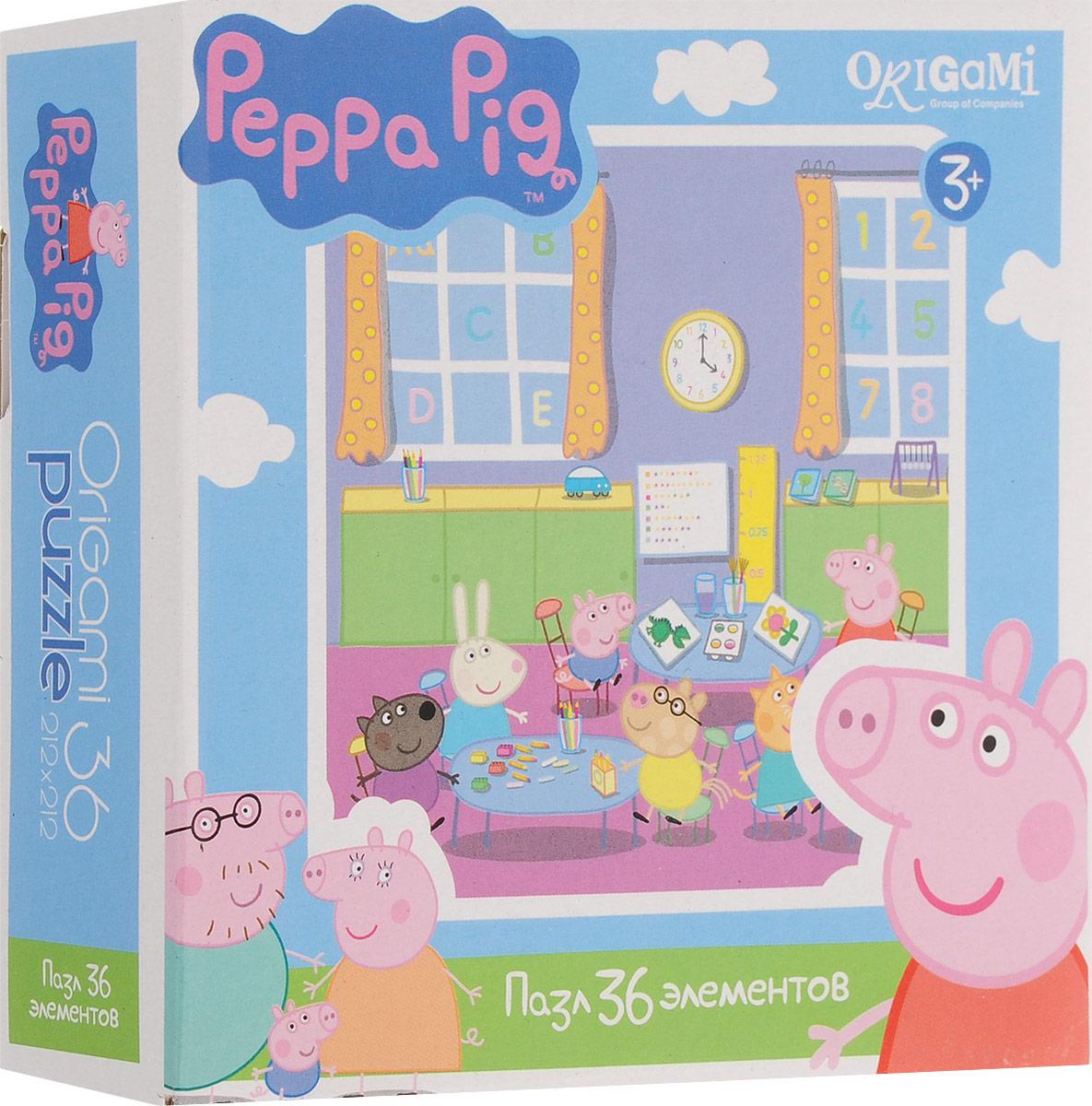 Оригами Пазл для малышей Peppa Pig 01552