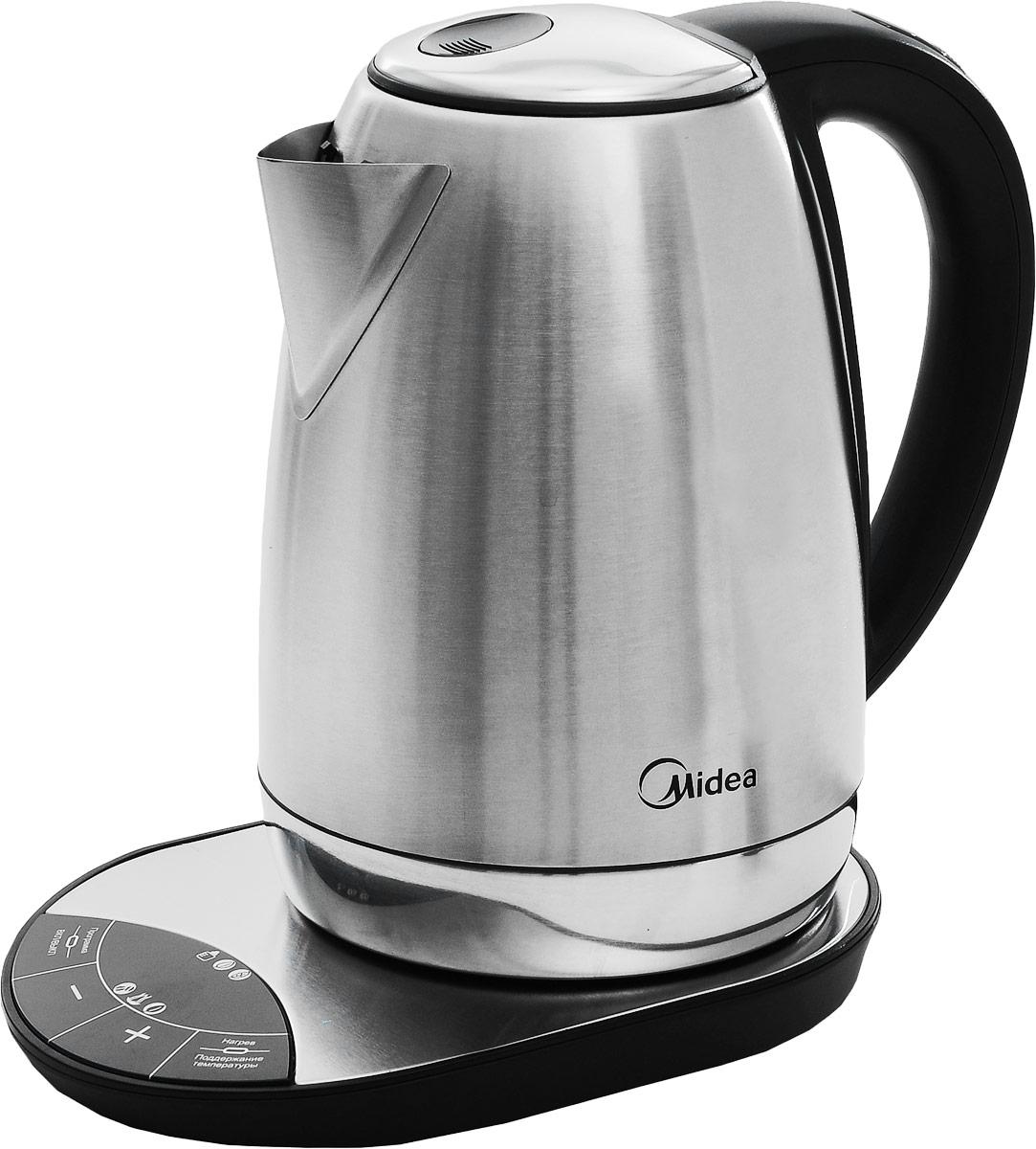 Midea MK-8080 электрический чайник чайник midea mk m317c2a rd 2200 вт 1 7 л нержавеющая сталь красный