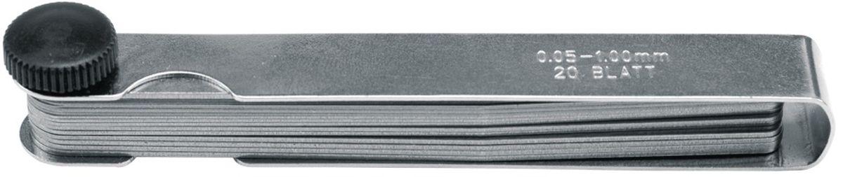 Щупы автомобильные Vorel, 0,05-1,0 мм, 13 шт15130Набор автомобильных щупов пригодится в сборочных, ремонтных работах. Они позволяют определить какой зазор между поверхностями. При изготовлении использовалась инструментальная сталь, что гарантирует долгий срок службы. Для точности зачастую используют несколько пластин. Набор состоит из 13 автомобильных щупов. Шаг измерения составляет 0.05-1,0 мм.