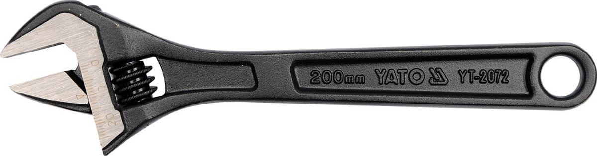 Ключ разводной Yato, 6, длина 15 смYT-2071Разводной ключ Yato, изготовленный из углеродистой стали, позволяет затягивать и отвинчивать винты разных размеров (до 19 мм). Один такой инструмент заменяет целый набор ключей и позволяет забыть о проблеме подбора необходимого размера. Наличие измерительной миллиметровой шкалы значительно облегчает процесс работ. Подходит для эксплуатации как в бытовых условиях, так и в профессиональной сфере. Длина: 15 см.Максимальный развод губок: 19 мм.