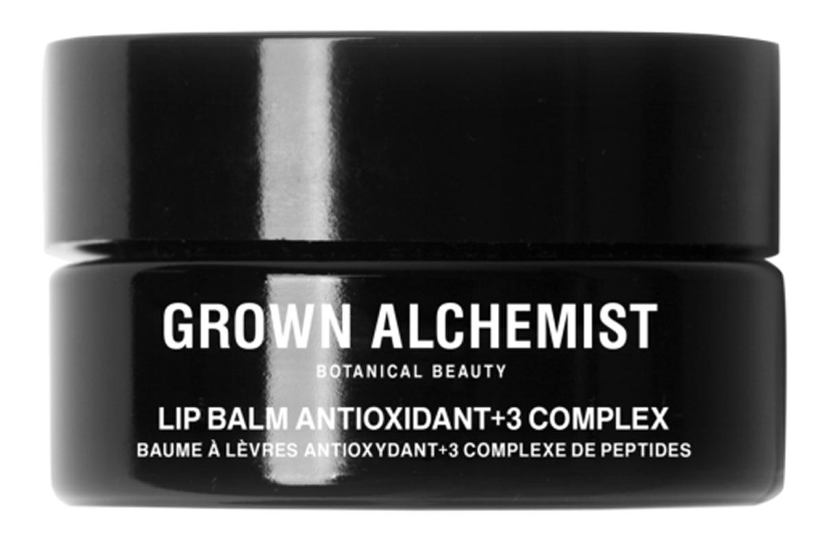 Grown Alchemist Бальзам для губ Антиоксидант +3 15 мл101600041Богатый антиоксидантами бальзам для губ имеет роскошную шелковистую текстуру. Увлажняет кожу, делая губы мягкими и придавая им блеск, а также питая и защищая.