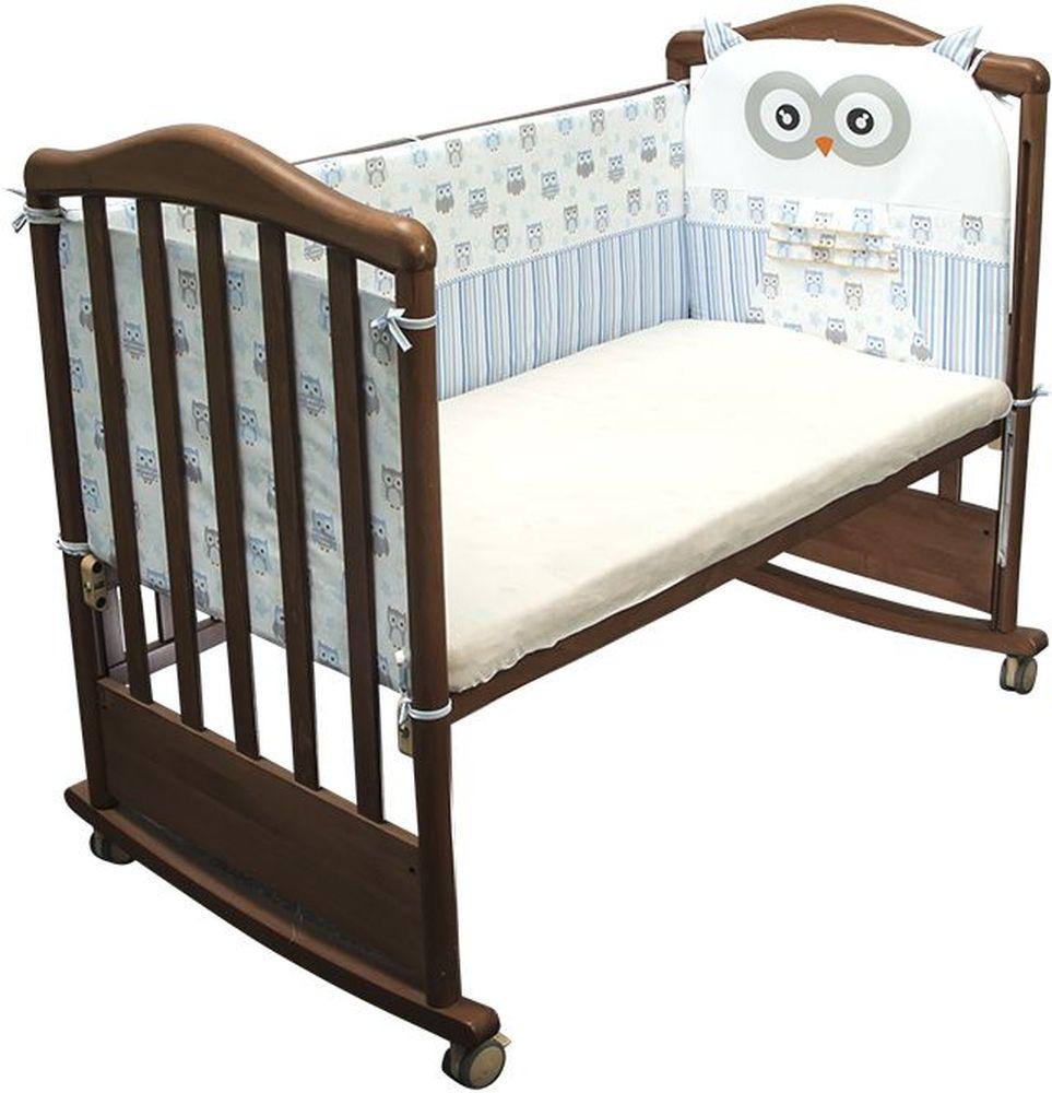 Сонный гномик Бортик для кровати Софушки цвет голубой -  Бортики, бамперы